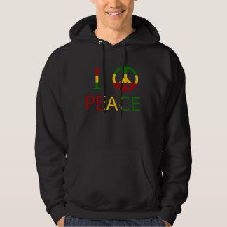 I Love Peace Hoodie