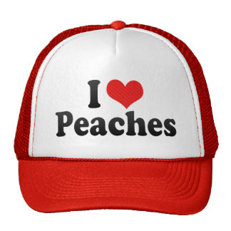 I Love Peaches Cap