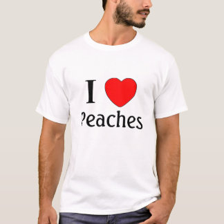 I love peaches! T-Shirt