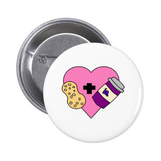 I love Peanut Butter and Jelly Pin