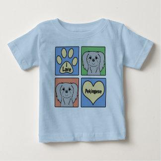 I Love Pekingese Baby T-Shirt