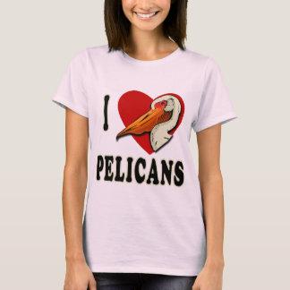 I Love Pelicans T-shirts, Kids Apparel T-Shirt