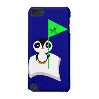 I Love Penguins iPod Touch (5th Generation) Cases