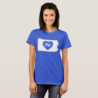 I Love Pennsylvania State Women's Basic T-Shirt
