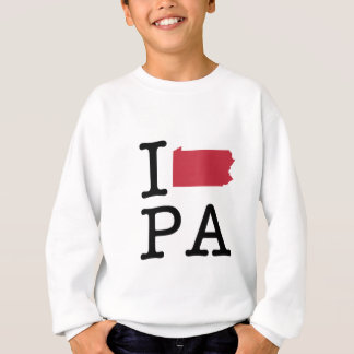I Love Pennsylvania Sweatshirt