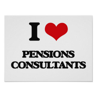 I love Pensions Consultants Print
