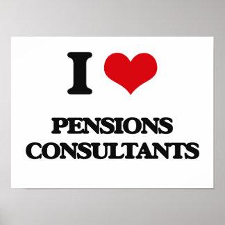 I love Pensions Consultants Print