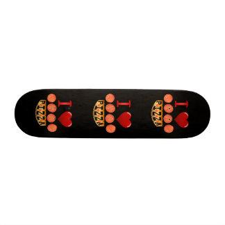 I love pepperoni pizza. skateboards