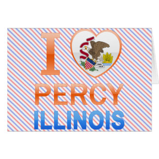 I Love Percy, IL Cards