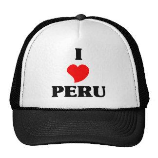I Love Peru Mesh Hat