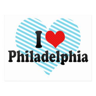 I Love Philadelphia Postcard