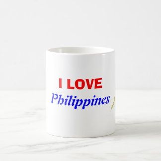 I Love Philippines Coffee Mug