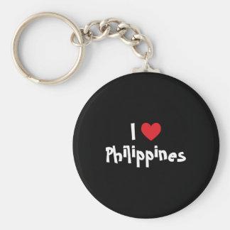 I Love Philippines Key Ring