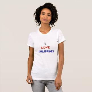 I love Philippines women's t shirt