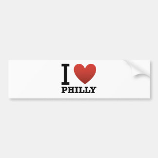 i-love-philly bumper stickers