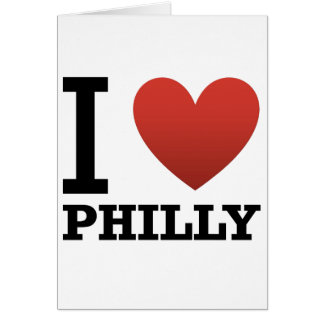 i-love-philly greeting card