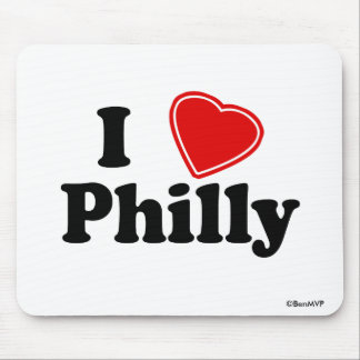 I Love Philly Mouse Pad