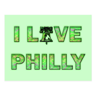 I LOVE PHILLY POSTCARD