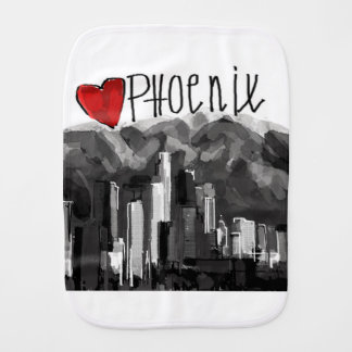 I love Phoenix Burp Cloth
