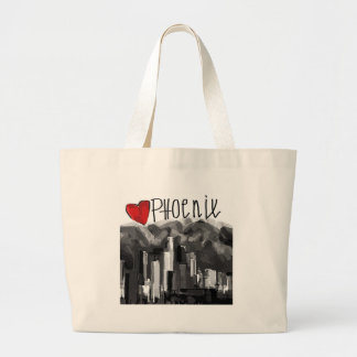 I love Phoenix Large Tote Bag