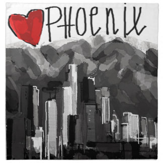 I love Phoenix Napkin