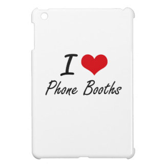 I Love Phone Booths Cover For The iPad Mini