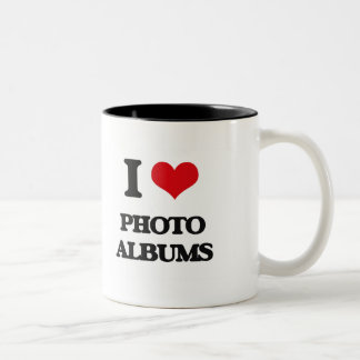 I Love Photo Albums Mug