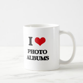I Love Photo Albums Coffee Mugs