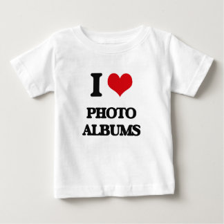 I Love Photo Albums T Shirt