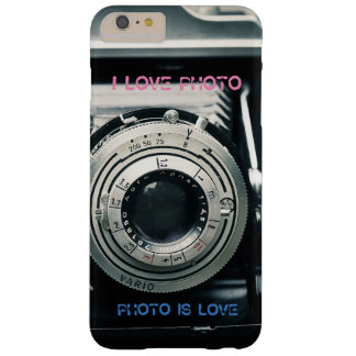 I LOVE PHOTO PHOTO IS LOVE marries Barely There iPhone 6 Plus Case