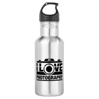 I Love Photography 532 Ml Water Bottle