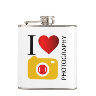 I love photography flasks