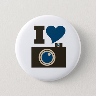 I Love Photography for Women 6 Cm Round Badge