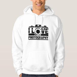 I Love Photography Hoodie