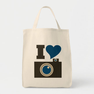 I Love Photography Tote Bag