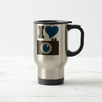 I Love Photography Travel Mug