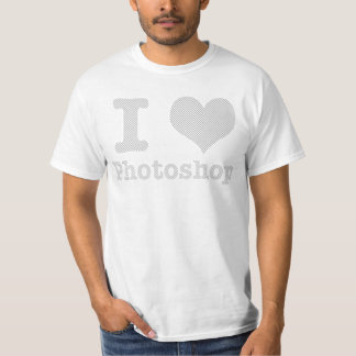 I Love Photoshop T-Shirt