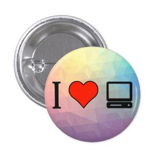 I Love Physical Pirepheral 3 Cm Round Badge