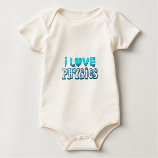 I Love Physics Baby Bodysuit