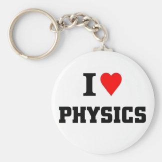 I love physics key chain