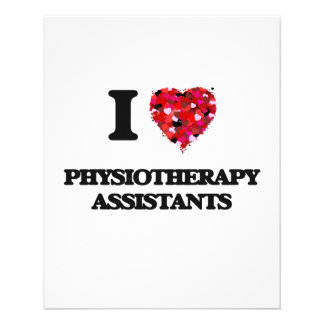 I love Physiotherapy Assistants 11.5 Cm X 14 Cm Flyer