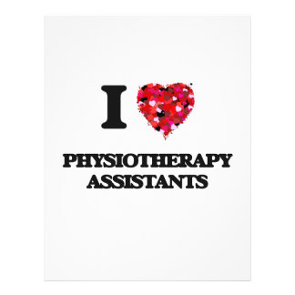 I love Physiotherapy Assistants 21.5 Cm X 28 Cm Flyer