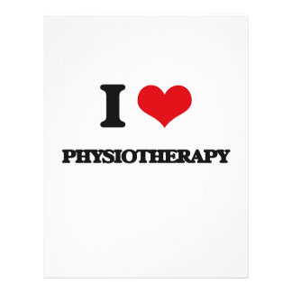 I Love Physiotherapy 21.5 Cm X 28 Cm Flyer