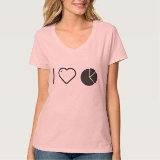 I Love Pie Charts Tshirt