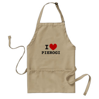I love pierogi | Funny aprons for men and women