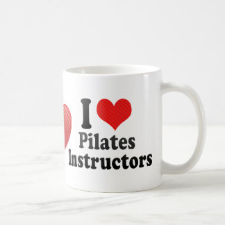 I Love Pilates Instructors Coffee Mug