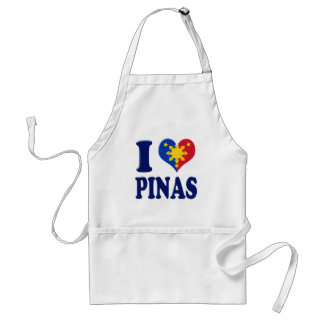 I Love Pinas Standard Apron