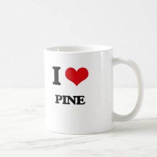 I Love Pine Coffee Mug