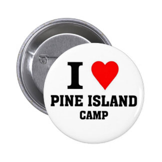 I love Pine Island camp 6 Cm Round Badge