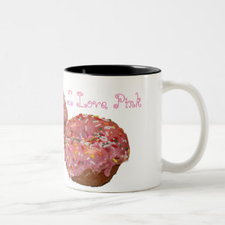 """I Love Pink"" Coffee Mug"